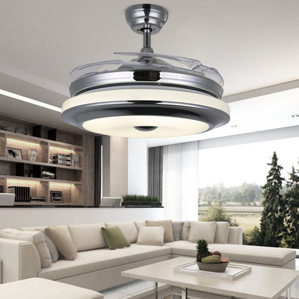 RS Lighting Best Ceiling Fan European Luxury Telescopic Fan Lights ...