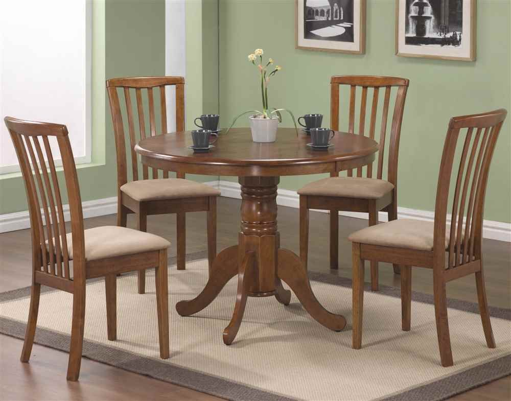 Amazon.com   101092 Brannan Side Chair With Upholstered Seat In Warm Maple  Finish (Set Of   Chairs