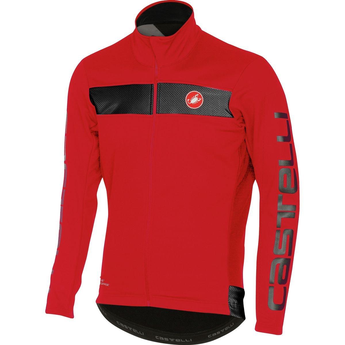 Castelli Raddoppia Jacket - Men's Red, S