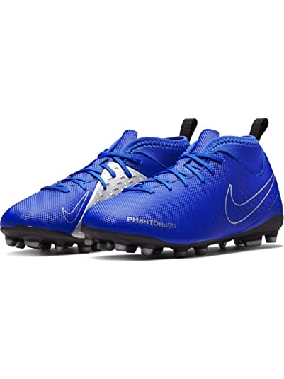 Amazon.com | Nike Jr Phantom Vsn Club Df Fg/mg Big Kids Ao3288-400 | Soccer