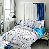 4pcs Bedding Sets Duvet Cover BedSheet Pillowcase2 Healthier For Skin Reactive Printing Twin Full Queen King Abstract Designs (Full, Poker)