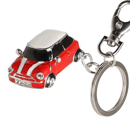 247ac55273 Amazon.com : 1 Pc Crystal Small Luxury Model Alloy Keychains DIY ...