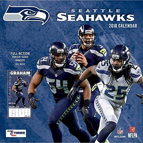 2018 Seattle Seahawks Wall Calendar