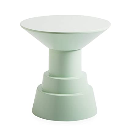 Now House By Jonathan Adler Otto Pedestal Accent Table, Mint