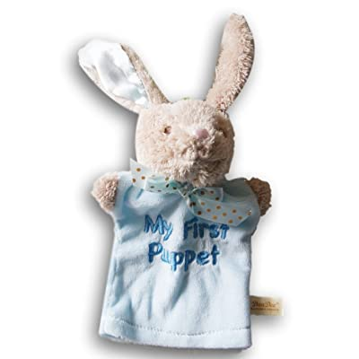 My First Puppet Supersoft Bunny - Blue: Toys & Games