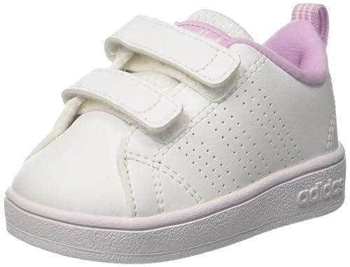 Scarpe Adidas Vs Advantage Clean Clean Bambina Primi Passi Rosa
