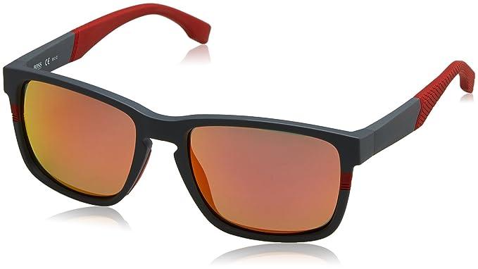 BOSS Hugo 0916/S 7H 1XA Gafas de sol, Rojo (Mtgreydkred/Red ...
