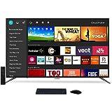 CloudWalker 109 cm  43 Inches  4K Ultra HD Smart LED Screen 43SUA7  Black