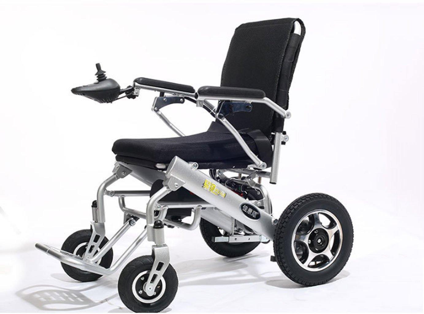 Silla de ruedas eléctrica, Peso Ligero, eléctrica Plegable, discapacitado, Vespa eléctrica