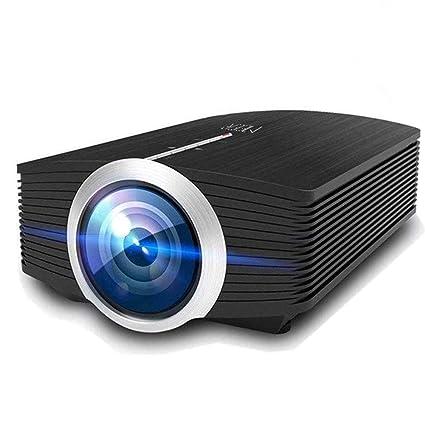 f1e514cf4e0dbd Meer Portable Mini Pico Full Color LED LCD Projector for Children's Gift,  Video TV Movie