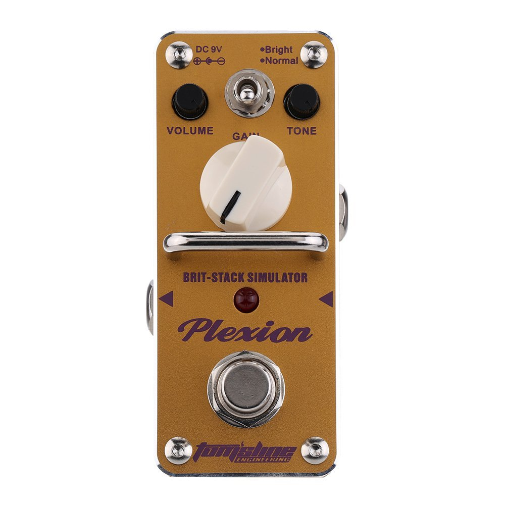AROMA APN-3 Plexion Brit-stack Simulator Electric Guitar Effect Pedal Mini Single Effect with True Bypass