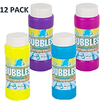 Amazon.com: CUZAIL Favores de fiesta – burbujas con bandas ...