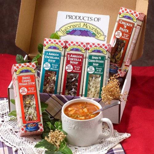 5 Soup Sampler Gift Set Gourmet (Gift Soup)