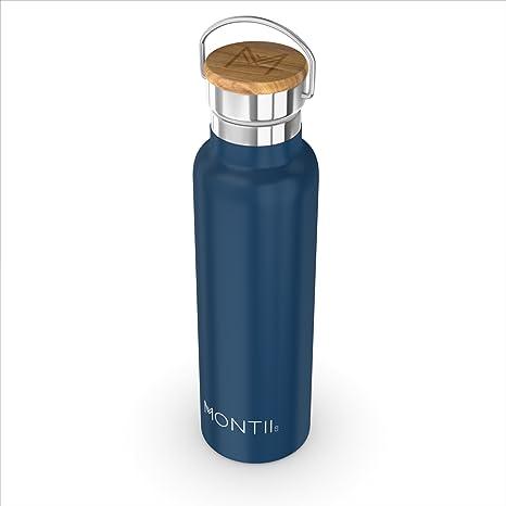 Montii - Botella de Agua de Acero Inoxidable, 600 ML ...