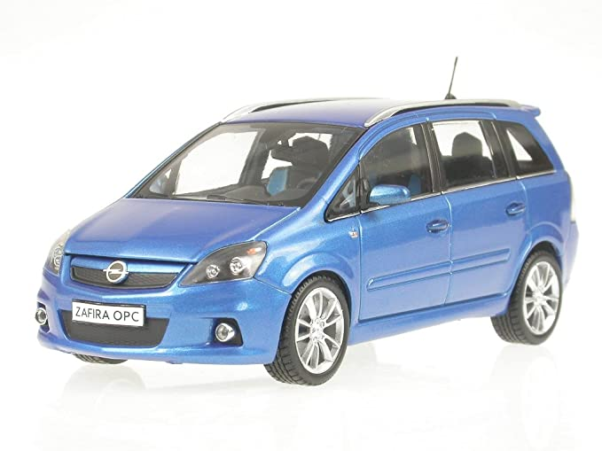 Opel Zafira Opc Blau 1 43 Minichamps Model Car Spielzeug
