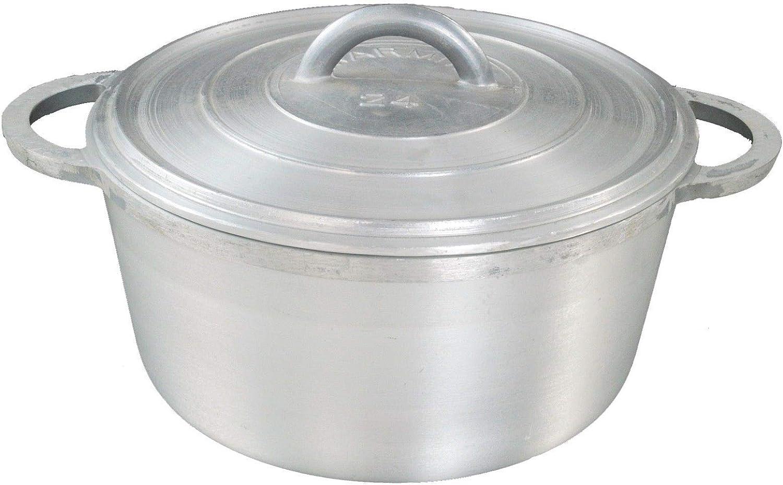 Dutch Pot Caribbean Jamaican Saucepan Dutchie Heavy Aluminium 26 CM 5 LITRE