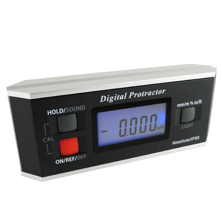 Winkelsucher Ebene Protractor Inclinometer Magnetic V-Groove 0 ~ 360 Grad mit Hintergrundbeleuchtung Gain Express Holdings Ltd AG-82413B