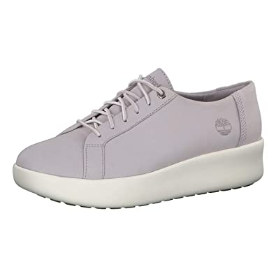Timberland Damen Dausette Leather Oxford Halbschuhe, Weiß