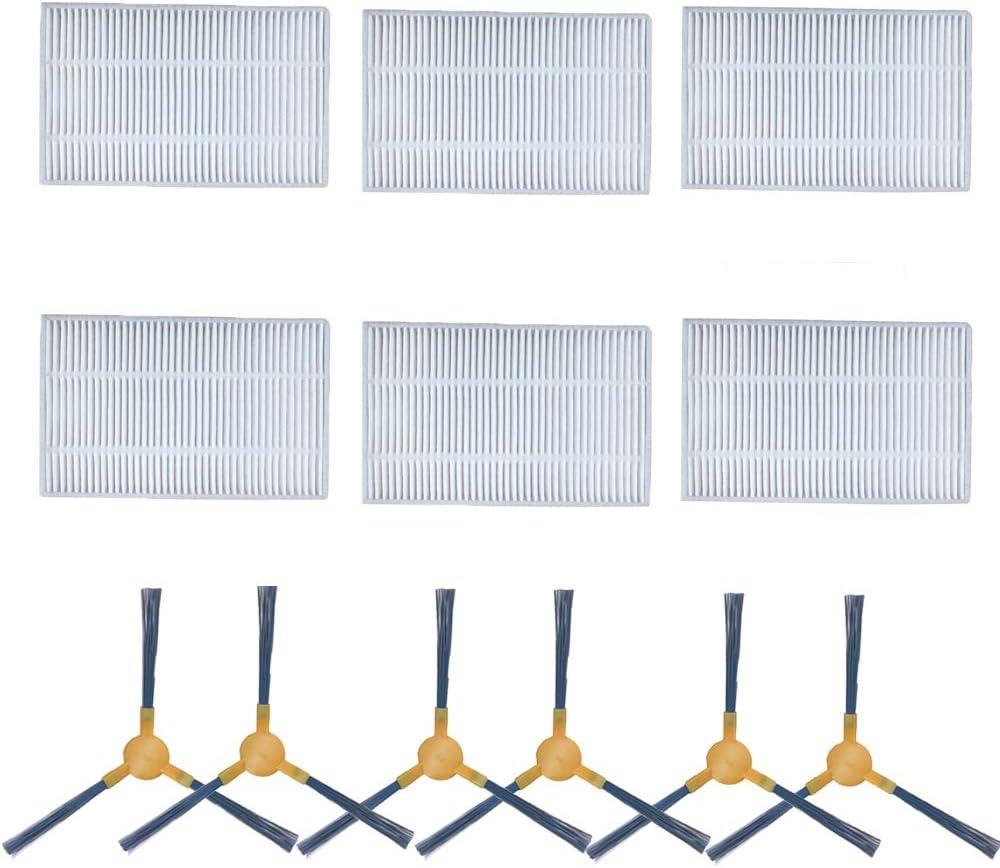 iAmoy Accesorios para filtros de Repuesto y cepillos Laterales ...