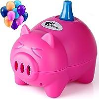 amzdeal Elektrische ballonpomp met automatische & semi-automatische modi en draagbare ballonnen pomp voor verjaardagen…
