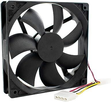 DIGIFLEX Ventilador Interno 120mm Refrigerar Ordenador de ...