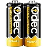 Odec 単5電池 ニッケル水素充電池 600mAh 1.2V 繰り返し使用可能 ディープサイクル HR1 LR1 KR1 R1 2個パック