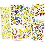 Pack Ahorro de Láminas de Pegatinas de Pascua Perfectas para Decorar Tarjetas Álbumes Collages y Otras Manualidades de Niños (Pack de 240)