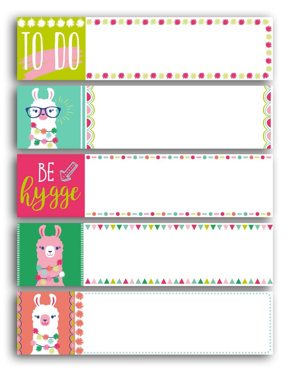 Toga STR202/Lama 100/Paper Sticky Notes Multi-Coloured 7.5/x 4/x 0.5/cm