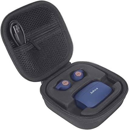 Hard Protector Case Cover Bag Pouch for Jabra Elite Active 65t//Elite 65t Earbuds