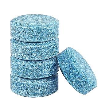 AOLVO - 5 Pastillas de Limpieza effervescentes para limpiaparabrisas de Coche/Limpiador de Cristal, Limpiador de limpiaparabrisas de Coche, ...