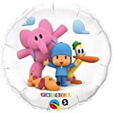 "Pocoyo & Friends 18"" Pocoyó Happy Birthday Party Mylar Foil Balloon"