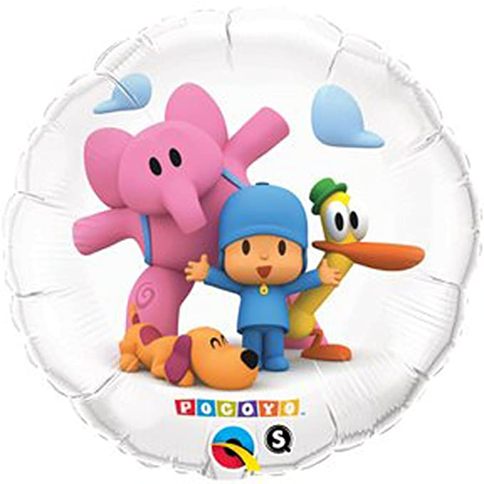 "Amazon.com: Pocoyo & Friends 18"" Pocoyó Happy ..."