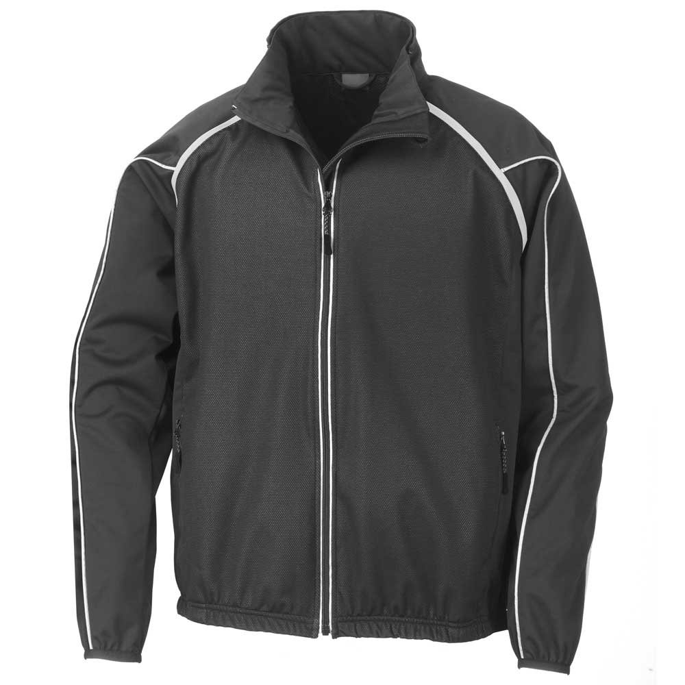 Spiro Mens Race System Sports Performance Midweight Jacket Black S,M,L,XL,2XL