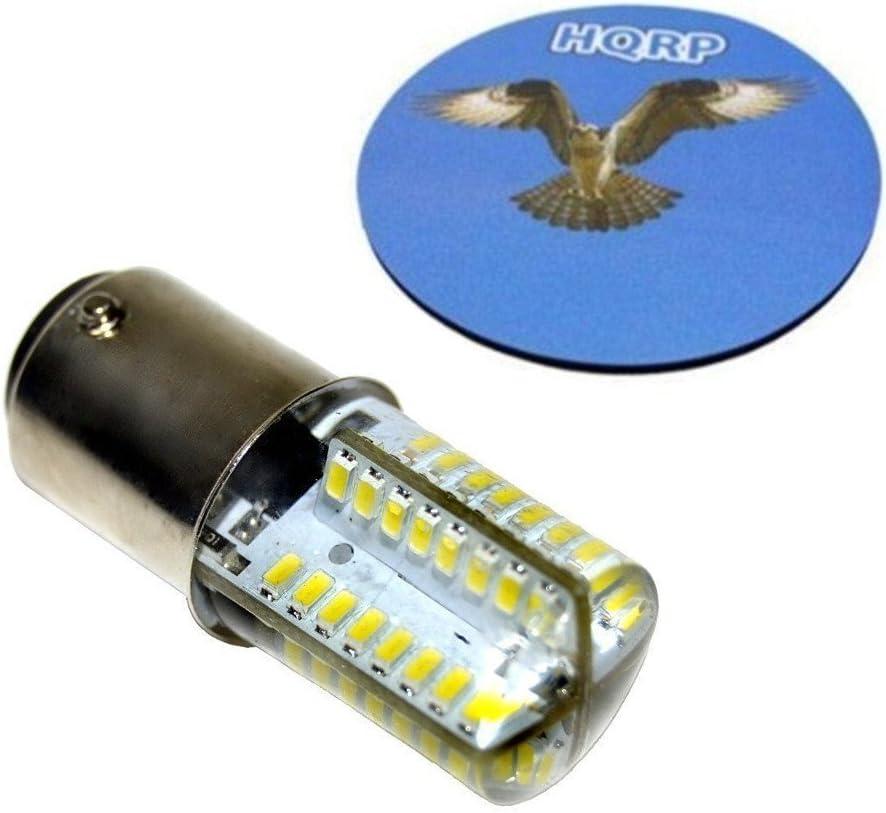 HQRP Bombilla LED para Bernina 530, 540, 640, 700, 710, 720, 730 ...