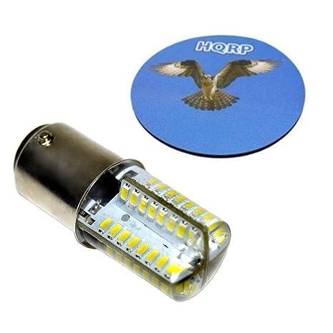 HQRP Bombilla LED para Husqvarna Viking 90, 95, 100, 105, 120,