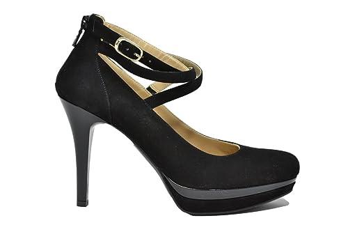 329edc547c48ba Nero Giardini Décolleté scarpe donna nero 9651 elegante A719651DE:  Amazon.it: Scarpe e borse