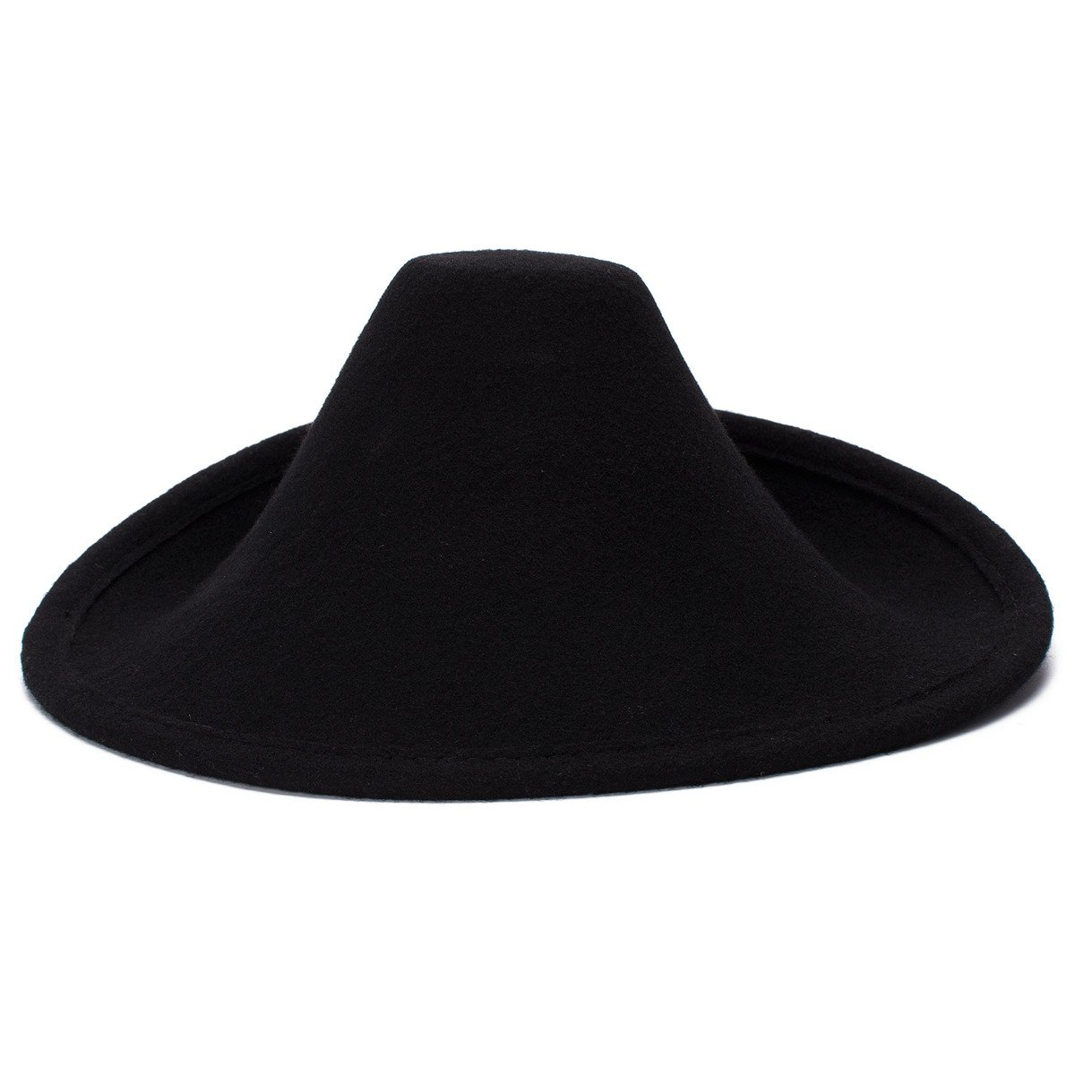 Lawliet Unique Style Wool Felt Hat Millinery Craft Supply Fascinator Base  A264