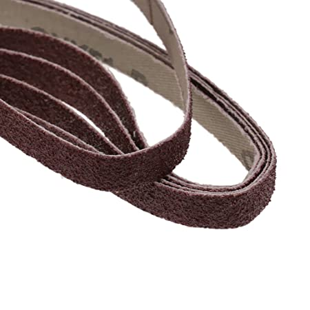 PETSOLA 20PCS Kit De Correa De Lijado De Granalla De Granalla De Grano De Metal De Alta Resistencia