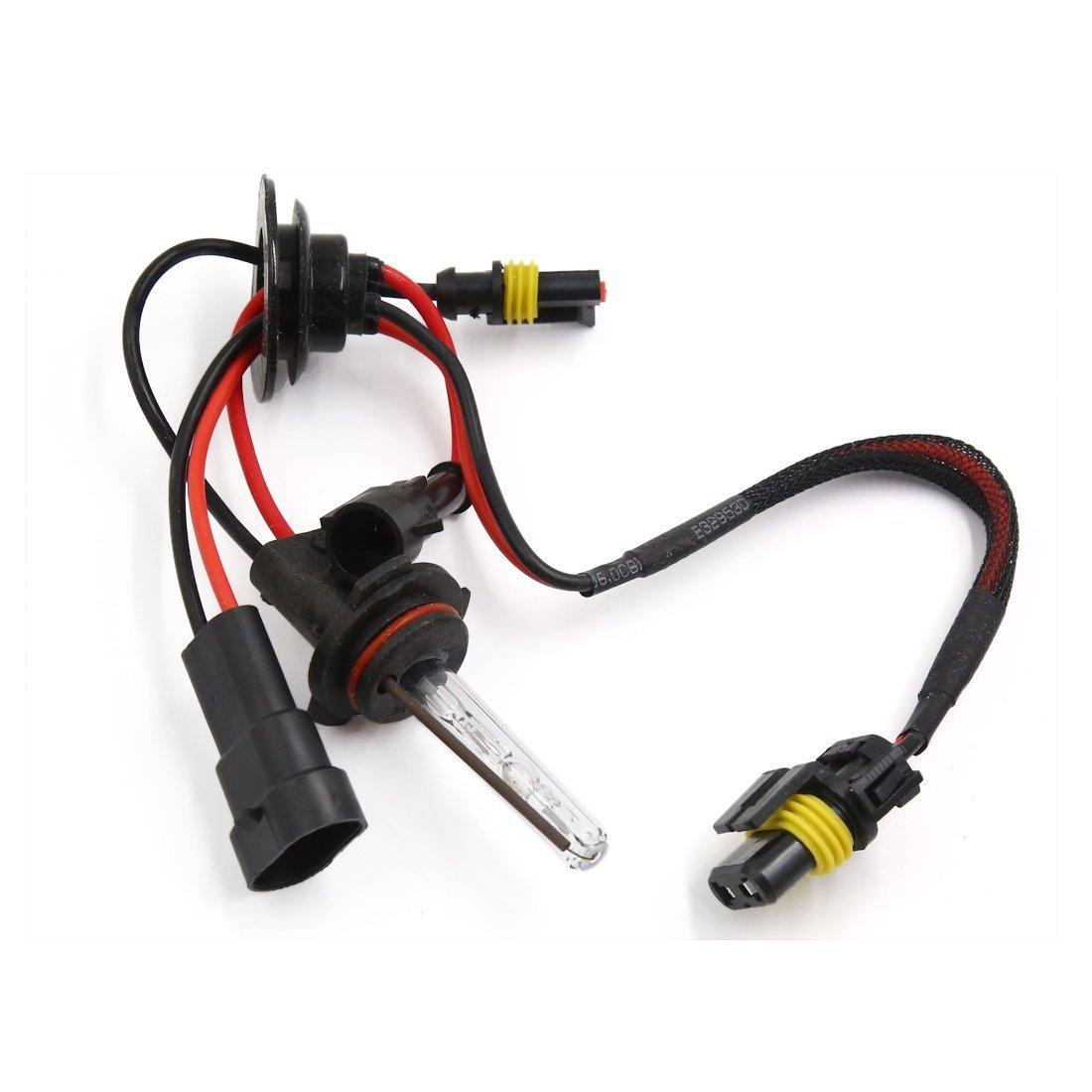 DealMux 9006 4300K ??Branco HID Xenon Bulb Conversion Kit Head Lamp Luz para carro