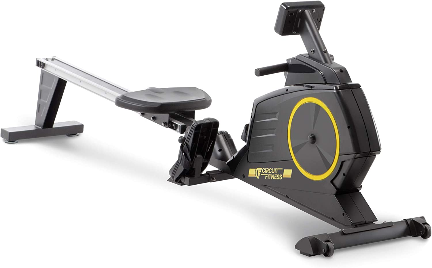 Circuit Fitness Deluxe Foldable Magnetic Rowing Machine - Full View