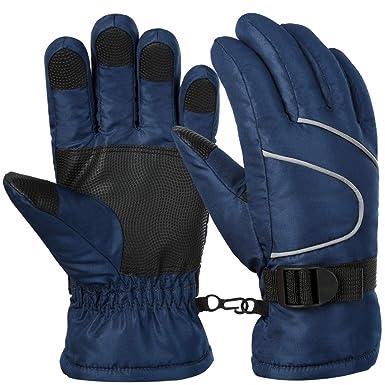 c801bdf967c388 Vbiger Ski Handschuhe Skating Handschuhe Warm Winter Handschuhe Verdickt Kalt  Wetter Handschuhe Beiläufig Outdoor Sports Handschuhe