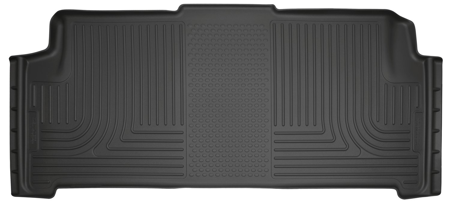 Husky Liners 19081 Black Fits 2008-16 Chrysler Town & Country, 2008-19 Dodge Grand Caravan Row Stow-N-Go Weatherbeater 2nd Seat Floor Liner