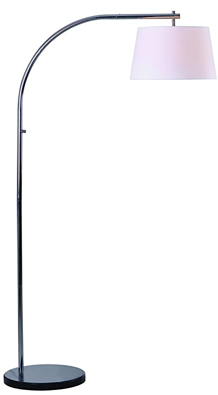 Amazon.com: Kenroy Home Sweep Arc Floor Lamp Marble Base: Home & Kitchen