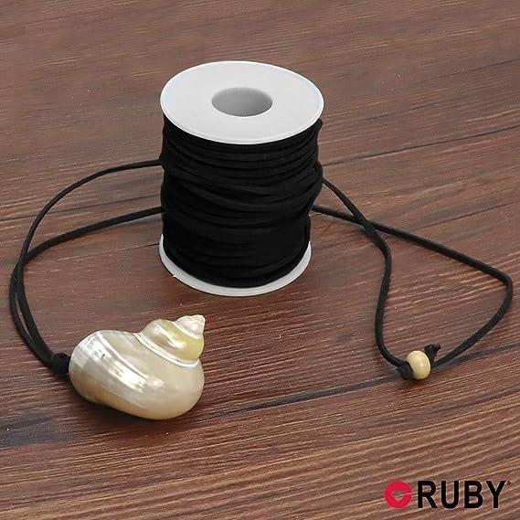 RUBY - Bobina Cordon de Antelina 3mm / 30Metros ENVIO DESDE ESPAÑA (Azul Oscuro): Amazon.es: Hogar