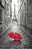 Paris Poster Eiffel Tower Umbrella (24