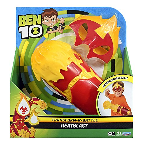 Ben Ten Costume (Ben 10 Battle Gauntlet and Mask Bundle Hero Play -)