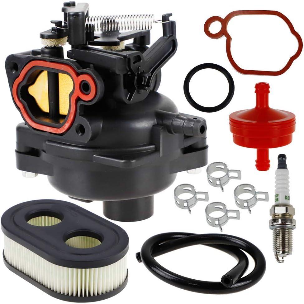 Carburetor Carb for Briggs /& Stratton 550EX 725EXI 625EX 675EX 140cc Spark Plug#