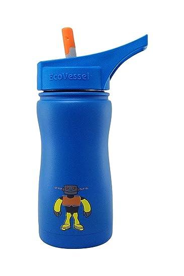 Amazon.com: EcoVessel FROST botella de agua TriMax para ...