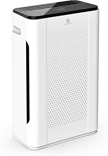 couply Air Purifier with True HEPA Filter, Air Cleaner for Home Allergiers and Pets Hair, Smokers, Moldd, Pollen, Dust, Quiet Odor Eliminators for Bedroom