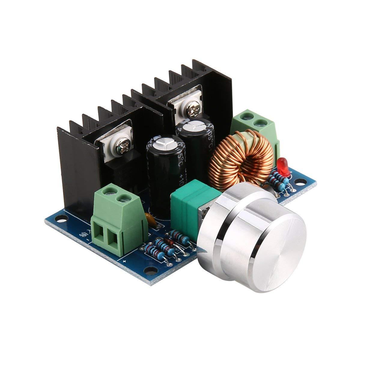 Bleu XL4016E1 Module dalimentation convertisseur de Conversion abaisseur DC-DC 4V-40V R/églable R/égulateur de Tension de Pneu Buck Puissance maximale 8A